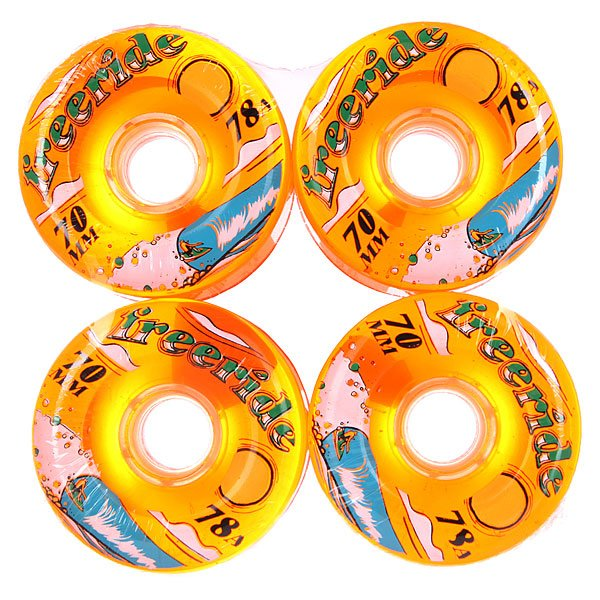 Колеса для скейтборда для лонгборда Sector 9 Freeride 7 Wheels Orange 78A 70 mmАксессуары для скейтбординга<br>Диаметр: 70 mm    Жесткость: 78A    Цена указана за комплект из 4-х колес<br><br>Размер EU: 70 mm<br>Цвет: оранжевый<br>Тип: Колеса для лонгборда