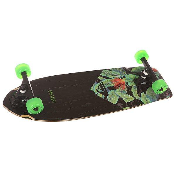 Скейт круизер Quiksilver St Amazon Black 9.8 x 30 (76 см)
