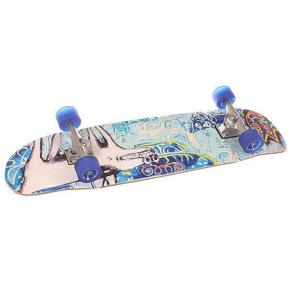 Скейт круизер Quiksilver Shakacruise M Multicolour 9 x 35 (89 см)Лонгборды<br>Универсальный гибридный скейт, который подойдет для катания на любой местности.Технические характеристики: Материал - канадский клен.Песчаная шкурка.Подвеска - classic kingpin.Длина деки - 89 см, ширина - 23 см.Колеса 65 мм, 83А.<br><br>Размер EU: 35 (89 см)<br>Цвет: мультиколор<br>Тип: Скейт круизер<br>Возраст: Взрослый<br>Пол: Мужской