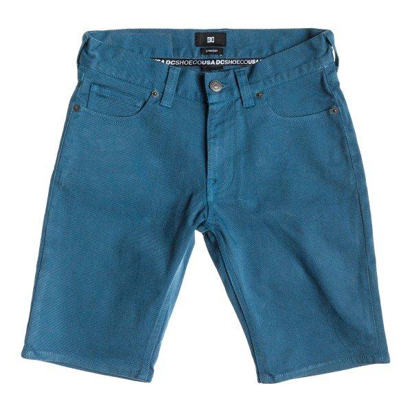 Шорты джинсовые детские DC Wkr Col Shor Bluesteel