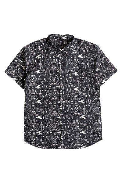 Рубашка DC Vacation Occult BlackРубашки<br><br><br>Размер EU: L<br>Цвет: черный<br>Тип: Рубашка<br>Возраст: Взрослый<br>Пол: Мужской