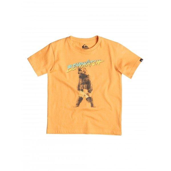 Футболка детская Quiksilver Bearwatch K Tees Orange PopОдежда<br><br><br>Размер EU: 3yrs<br>Цвет: оранжевый<br>Тип: Футболка<br>Возраст: Детский