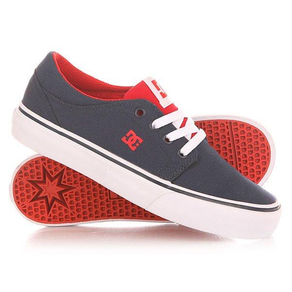 Кеды кроссовки низкие детские DC Trase Tx Navy/Red