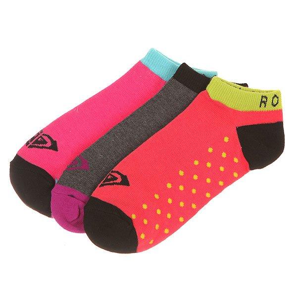 Носки низкие женскиеRoxy Ankle Dot Sripe Ns MultiНоски<br><br><br>Размер EU: 9-11<br>Цвет: розовый,фиолетовый,серый,черный<br>Тип: Носки низкие<br>Возраст: Взрослый<br>Пол: Женский