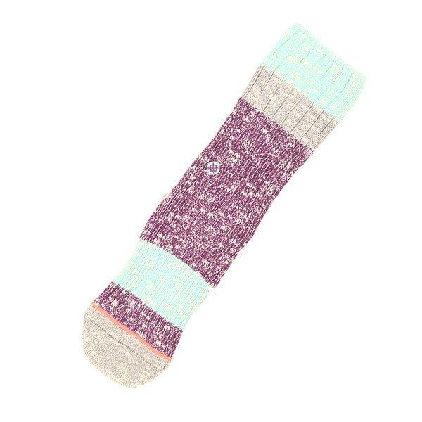 Носки средние женские Stance Blue Bear Purple