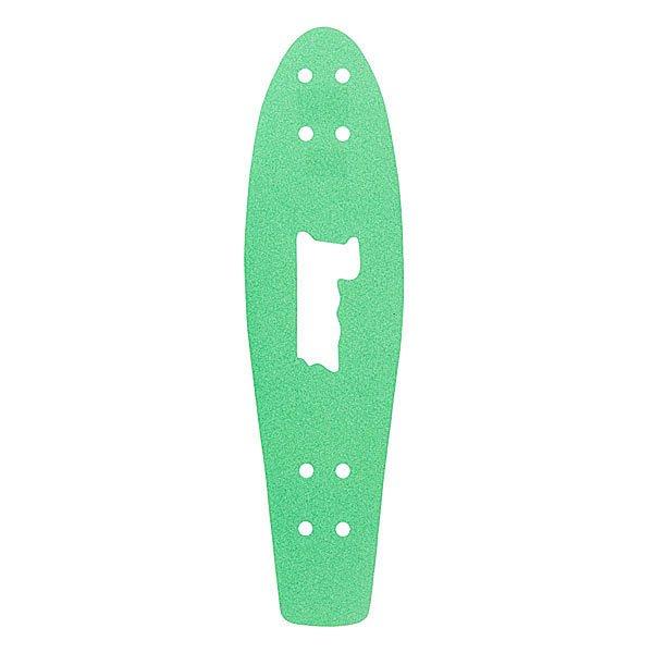 Шкурка для скейтборда для лонгборда Penny Griptape Green Ano 27(68.6 см)Лонгборды<br>Оригинальная шкурка для дек Penny 27(68.6 см)<br><br>Размер EU: 27 (68.6 см)<br>Цвет: зеленый<br>Тип: Шкурка для лонгборда