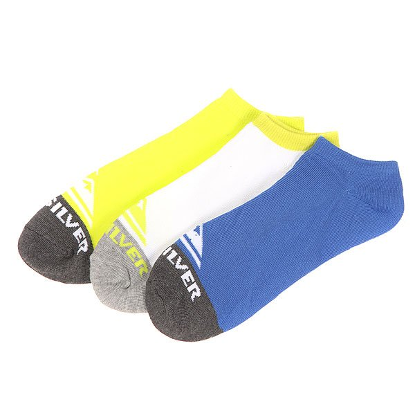 Носки низкие Quiksilver Basic Collection Ns Royal Blue