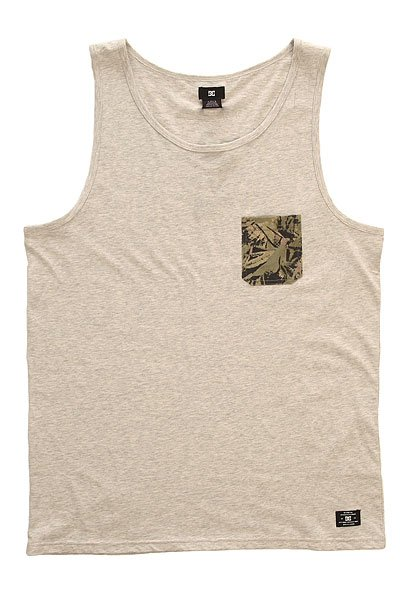 ����� DC Contra Tank Kttp Light Heather Grey