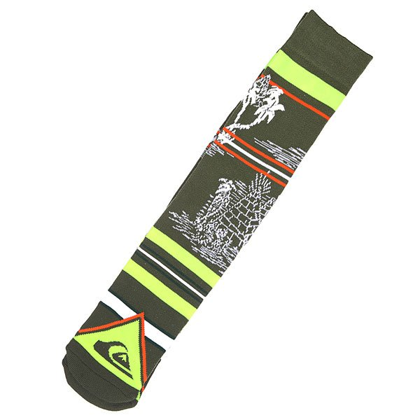����� ������� Quiksilver Frontboarder Knitted Crew Bd Green