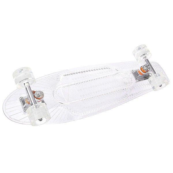 Скейт мини круизер Sunset Ghost Comple Bd Clear 5 X 22 (55.8 См)Лонгборды<br><br><br>Размер EU: 22 (55.9 см)<br>Цвет: белый<br>Тип: Скейт мини круизер
