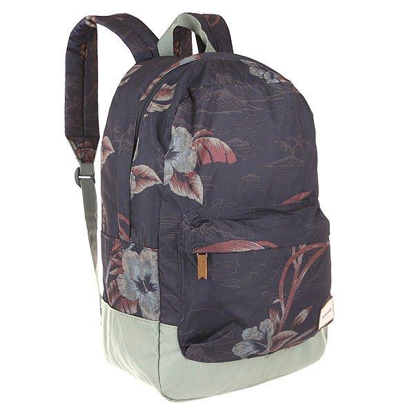 Рюкзак городской Quiksilver Night Track Parrot Jungle NavyРюкзаки и Сумки<br>Практичный городской рюкзак со свободной организацией пространства с карманом для ноутбука для дополнительного удобства.Технические характеристики: Большое основное отделение.Внутренний отсек для ноутбука 15.Передний карман на молнии.Мягкие лямки.Логотип Quiksilver.<br><br>Размер EU: 20 л.<br>Цвет: синий,серый,голубой<br>Тип: Рюкзак городской<br>Возраст: Взрослый<br>Пол: Мужской