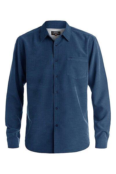 Рубашка Quiksilver Centinela Legion BlueРубашки<br><br><br>Размер EU: S<br>Размер EU: M<br>Размер EU: L<br>Цвет: синий<br>Тип: Рубашка<br>Возраст: Взрослый<br>Пол: Мужской
