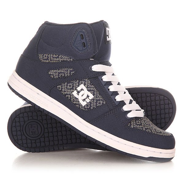 ���� ��������� ������� ������� DC Shoes Rebound High Tx Navy