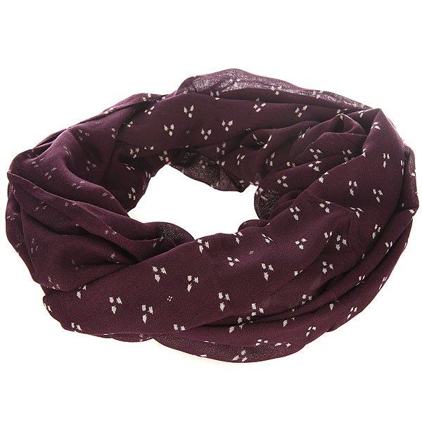 Шарф снуд женский Roxy Infinite Kimono Dots Combo ItШарфы<br>Шарф - это не только практичный аксессуар, но и стильная деталь, способная дополнить или разнообразить Ваш образ.Характеристики:Легкий натуральный материал.<br><br>Размер EU: One Size<br>Цвет: бордовый<br>Тип: Шарф снуд<br>Возраст: Взрослый<br>Пол: Женский