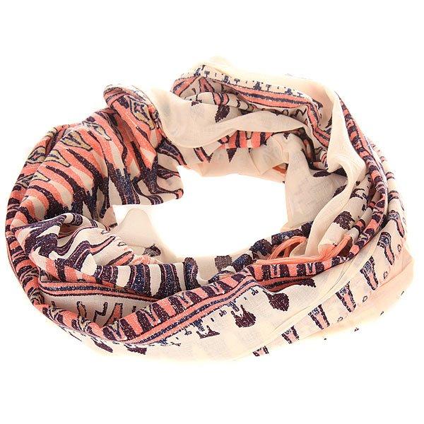 Шарф женский Roxy Happiest Sayra PristineШарфы<br>Стильный шарф от Roxy в ярком дизайне прекрасно дополнит Ваш образ. Этот практичный аксессуар, выполненный из мягкого приятного текстиля, отлично подходит для сезона осень-весна.Характеристики:Мягкий на ощупь текстиль.Яркий дизайн. Логотип Roxy.<br><br>Размер EU: One Size<br>Цвет: мультиколор<br>Тип: Шарф<br>Возраст: Взрослый<br>Пол: Женский