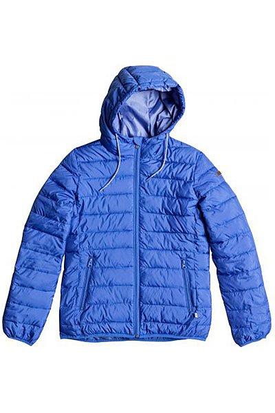 Куртка женская Roxy Foreverfreely J Jckt Dazzling BlueКуртки и Парки<br>ROXY создали коллекцию, вдыхающую новую жизнь в традиционную зимнюю экипировку. В ней минимализм и строгая цветовая палитра сочетаются с первоклассными материалами и высокими технологиями, а также дотошным отношением к каждой мелочи! Стиль и спорт, задавать тенденции и нарушать правила: это ROXY x Courr?ges.Технические характеристики: Подкладка - полиэстер.Водоотталкивающая пропитка.Стеганый дизайн.Фиксированный капюшон на шнурке-утяжке.Удобная бесшумная молния.Карманы для рук на молнии.<br><br>Размер EU: S<br>Размер EU: XS<br>Размер EU: M<br>Размер EU: L<br>Размер EU: XL<br>Цвет: синий<br>Тип: Куртка<br>Возраст: Взрослый<br>Пол: Женский