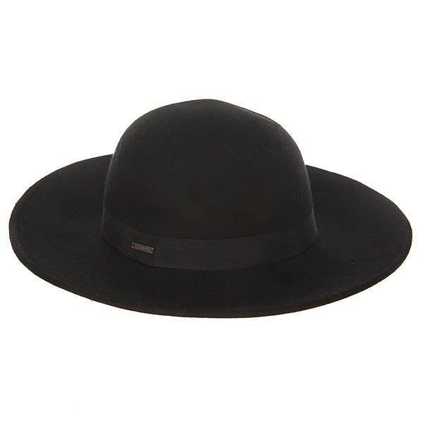 Шляпа женская Roxy Love True BlackШапки<br>Идеальная шляпа в калифорнийском стиле от Roxy.Технические характеристики: Натуральная шерсть.Крой Floppy.Широкие поля.Широкая декоративная лента с металлическим логотипом Roxy.<br><br>Размер EU: S/M<br>Цвет: черный<br>Тип: Шляпа<br>Возраст: Взрослый<br>Пол: Женский