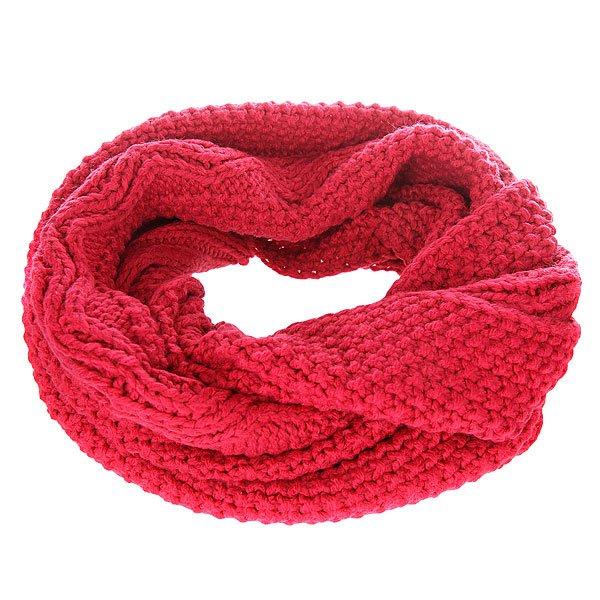 Шарф женский Roxy Stay SangriaШарфы<br>Уютный вязаный шарф от Roxy укутает своим теплом холодной зимой.Технические характеристики: Крупная вязка с узором.Металлический логотип Roxy.<br><br>Размер EU: One Size<br>Цвет: красный<br>Тип: Шарф<br>Возраст: Взрослый<br>Пол: Женский