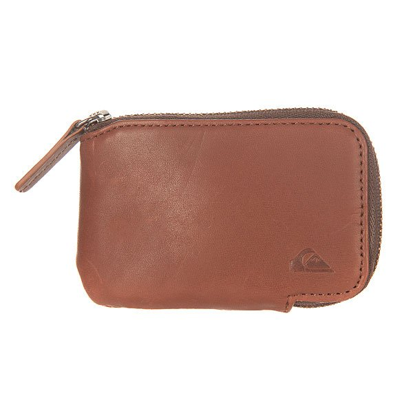 Монетница Quiksilver Half Zip Wallet Chocolate
