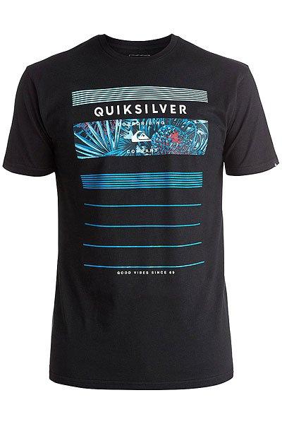Футболка Quiksilver Classic Stringe BlackФутболки и Майки<br><br><br>Размер EU: S<br>Цвет: черный<br>Тип: Футболка<br>Возраст: Взрослый<br>Пол: Мужской