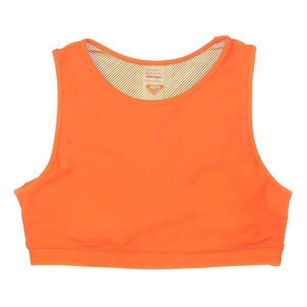Топ женский Roxy Courr Ges Bra J Kttp Shocking Orange