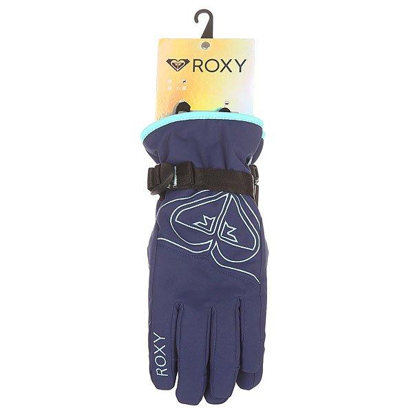 Перчатки сноубордические женские Roxy Popi Gloves Blue Print от BOARDRIDERS