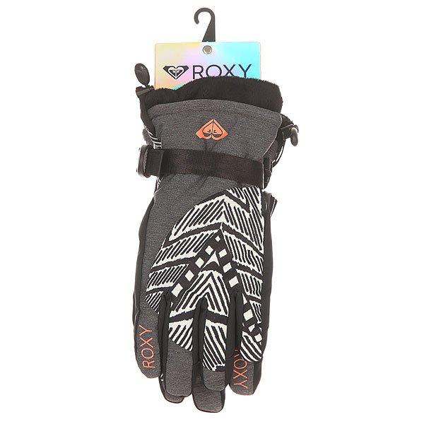 Перчатки сноубордические женские Roxy Merry Go Gloves Mauritius Daze Egret от BOARDRIDERS