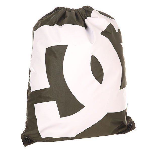 Мешок DC Simpski Dark OliveРюкзаки и Сумки<br>Быстро, просто и удобно! Лаконичная сумка-мешок на шнурках, снабженная внутренним карманом на молнии – незаменимая вещь для тех, кто не любит носить большие полупустые рюкзаки. Характеристики:На шнурках. Крупный логотип на фронтальной стороне. Внутренний карман на молнии. Состав: 100% полиэстер.<br><br>Размер EU: One Size<br>Цвет: зеленый<br>Тип: Мешок<br>Возраст: Взрослый<br>Пол: Мужской