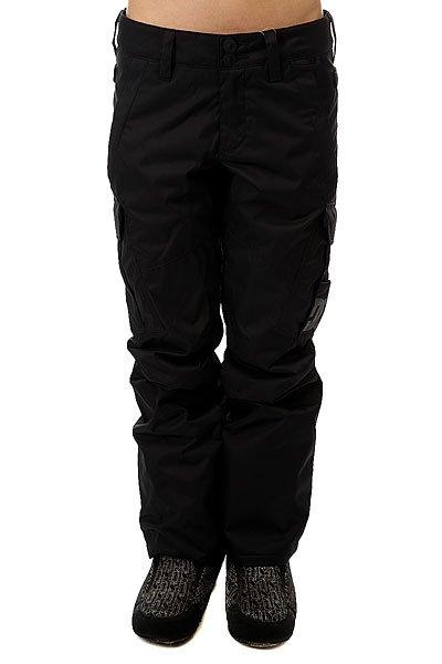 Штаны сноубордические женские DC Ace BlackШтаны<br>Сноубордические штаны Ace с мембраной EXOTEX 10 для надежной водонепроницаемой и дышащей защиты, которая удачно дополнена утеплителем и проклеенными швами в самых уязвимых местах.Технические характеристики: Мембрана EXOTEX 10.Технологичный текстиль кареточного плетения.Теплая и уютная подкладка из тафты.Утеплитель 40 г.Критические швы проклеены.Вентиляция за счет сеточных вставок.Система пристегивания куртки к штанам.Регулировка талии с изнанки.Эргономичный крой с акцентированной областью колена.Гетры для сноубордического ботинка с водоотталкивающей пропиткой DWR.Вставка на кнопке для регулировки ширины нижней части штанины.Карманы с утепленной подкладкой.Карманы-карго с защитным клапаном на липучке Velcro.Задние карманы на липучке Velcro.Система утяжки краев штанин для предотвращения их износа и загрязнения.<br><br>Размер EU: M<br>Размер EU: L<br>Размер EU: S<br>Цвет: черный<br>Тип: Штаны сноубордические<br>Возраст: Взрослый<br>Пол: Женский