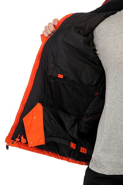 Куртка Quiksilver Mission Solid Nmj0 Flame от BOARDRIDERS