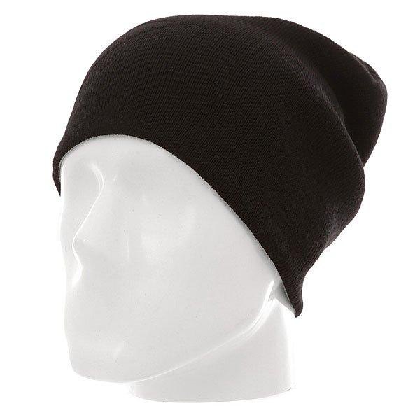 Шапка носок Quiksilver Heatbag Slouch Black