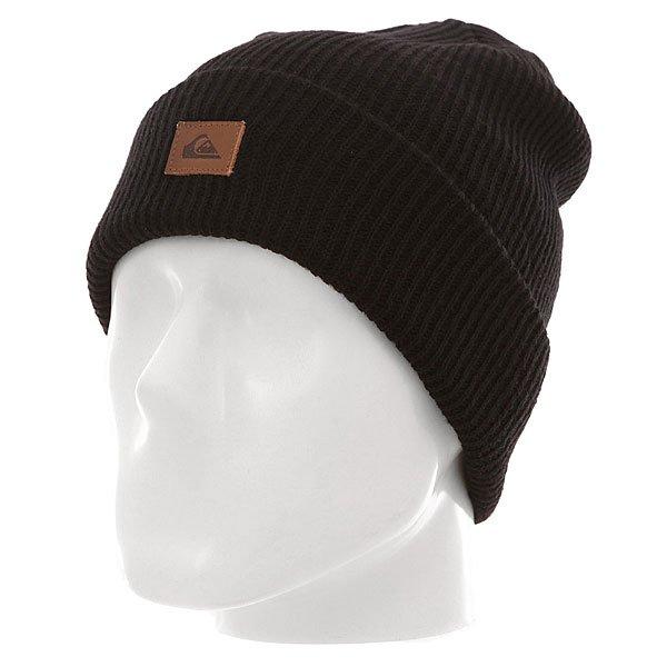 Шапка Quiksilver Performer M Hats BlackШапки<br><br><br>Размер EU: One Size<br>Цвет: черный<br>Тип: Шапка<br>Возраст: Взрослый<br>Пол: Мужской