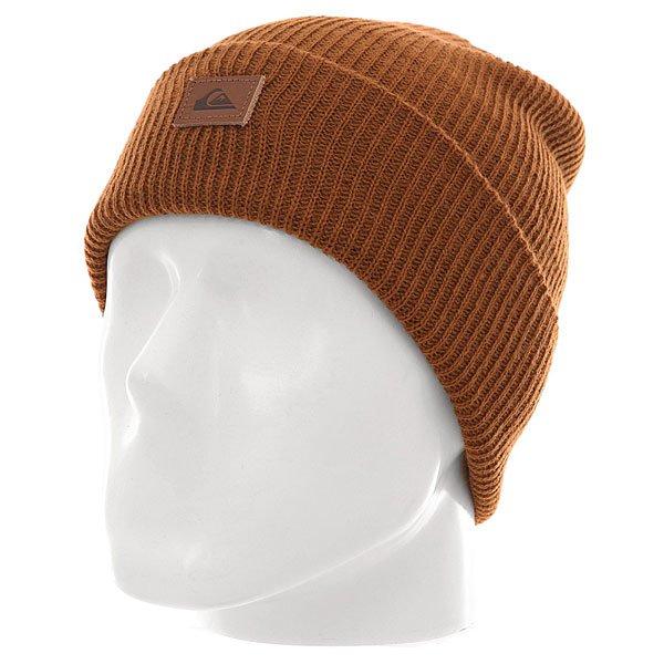 Шапка Quiksilver Performer M Hats BearШапки<br><br><br>Размер EU: One Size<br>Цвет: коричневый<br>Тип: Шапка<br>Возраст: Взрослый<br>Пол: Мужской