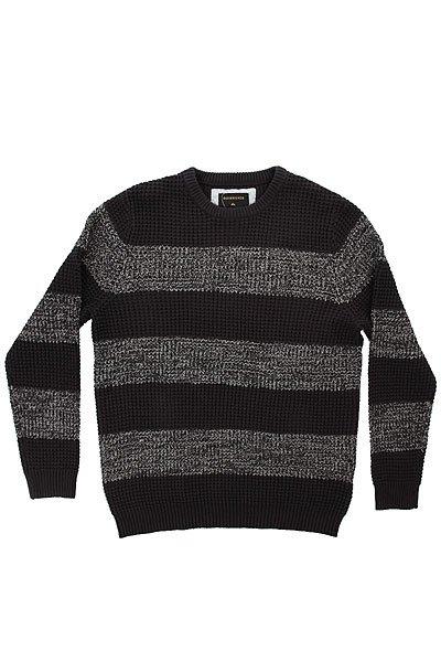 Свитер Quiksilver Stunninglight TarmacТолстовки и Джемперы<br>Вязаный мужской свитер с полосатым принтом в стиле Colour Block.Технические характеристики: Свободный полосатый дизайн.Дизайн в стиле Colour Block.Воротник с круглым вырезом.Эластичные, вязаные манжеты, воротник и подол.Крупная текстурная вязка.<br><br>Размер EU: XS<br>Размер EU: L<br>Размер EU: XL<br>Размер EU: M<br>Размер EU: S<br>Цвет: серый<br>Тип: Свитер<br>Возраст: Взрослый<br>Пол: Мужской
