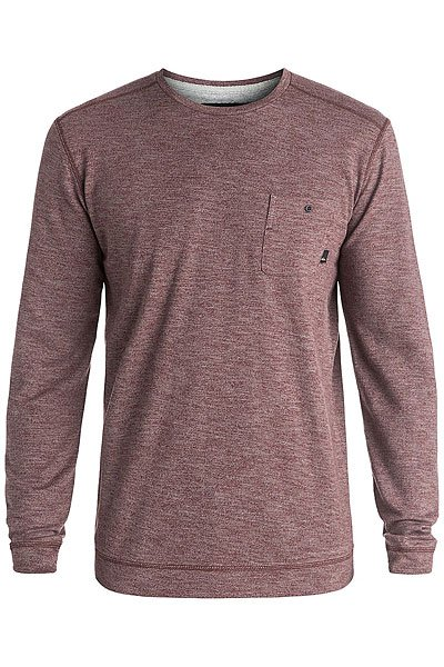 Лонгслив Quiksilver Lindow Crew Port Heather