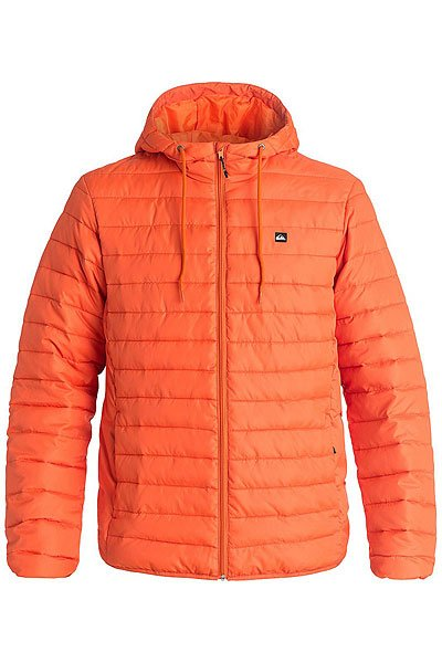 Куртка зимняя Quiksilver Everydayscaly FlameКуртки и Парки<br>Стеганная легкая куртка Quiksilver Everyday Scaly симитацией пухового наполнителя, полиуретановой пропиткой для защиты от дождя и эластичными манжетами и подолом для сохранения тепла и защиты от ветра. Отлично подойдет для неприятной погоды межсезонья, успешно впишется в любой гардероб.Характеристики:Стеганный дизайн с имитацией пухового наполнителя. Полиуретановая пропитка. Застегивается на молнию по всей длине. Карманы для рук на молнии. Эластичные манжеты и подол.Фирменный логотип Quiksilver. Состав: 100% полиэстер.<br><br>Размер EU: XS<br>Размер EU: L<br>Размер EU: XL<br>Размер EU: S<br>Размер EU: M<br>Цвет: оранжевый<br>Тип: Куртка зимняя<br>Возраст: Взрослый<br>Пол: Мужской