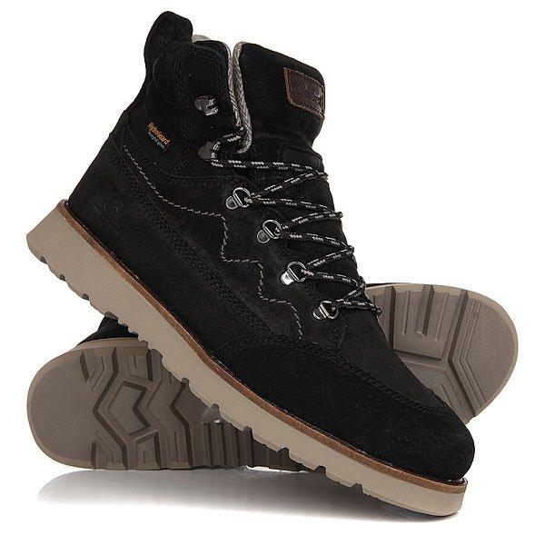 Ботинки зимние Quiksilver Atlas Black/Brown