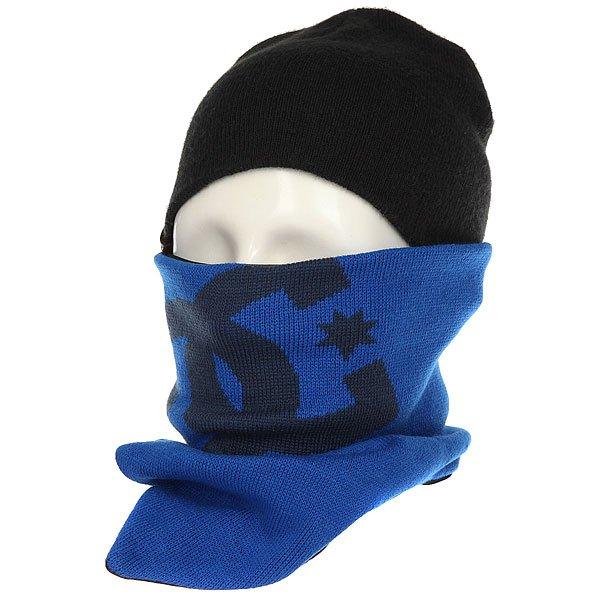 Шарф труба DC Yad Nautical BlueШарфы<br>Гейтер плотной вязки отлично защитит от холода и ветра Ваше лицо и шею. При сильном ветре или в горах согреет нос и щеки, а в городских условиях просто послужит отличным шарфом. Характеристики:Плотная пряжа. Сетчатая дышащая подкладка. Контрастный вязанный логотип. Состав: 100% акрил.<br><br>Размер EU: One Size<br>Цвет: синий<br>Тип: Шарф труба<br>Возраст: Взрослый<br>Пол: Мужской