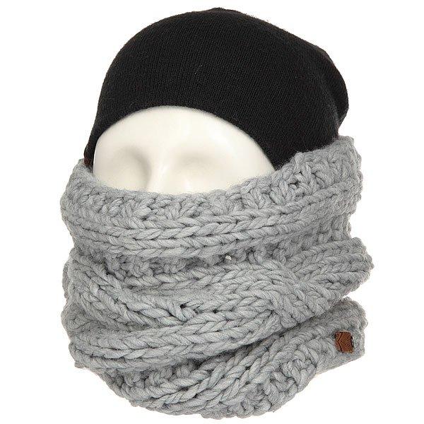���� ����� ������� Roxy Winter Collar Mid Heather Grey