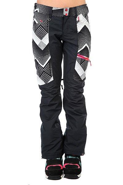 Штаны сноубордические женские Roxy Cabin Pop Snow Optic Dot_t