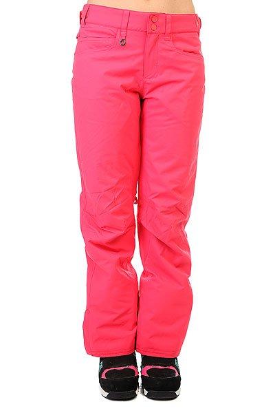 Штаны сноубордические женские Roxy Backyard Paradise PinkШтаны<br>Практичныесноубордические штаны для покорительниц склонов и вершин, призванные обеспечивать комфорт на протяжении долгих дней активного катания. Минималистичный дизайн без лишних деталей обеспечивает лаконичный внешний вид, а классический крой создает оптимальную посадку, не сковывая движений. Мембранная ткань DryFlight® 10k не допустит промокания и отведет лишнюю влагу, а утеплитель Warmflight® 80 г сохранит драгоценное тепло. На случай потепления в штанах предусмотрены сетчатые вентиляционные карманы, расположенные с внутренней стороны бедер.Характеристики:Мембрана 10K DryFlight®.Классический крой. Утеплитель Warmflight® 80 г. Подкладка из лёгкой тафты. Проклеенные критические швы. Регулируемая на липучках талия. Сетчатые вставки для вентиляции с внутренней стороны бедер. Гейтеры из тафты. Держатель для ски-пасса.<br><br>Размер EU: XS<br>Размер EU: M<br>Размер EU: S<br>Размер EU: L<br>Размер EU: XL<br>Цвет: розовый<br>Тип: Штаны сноубордические<br>Возраст: Взрослый<br>Пол: Женский