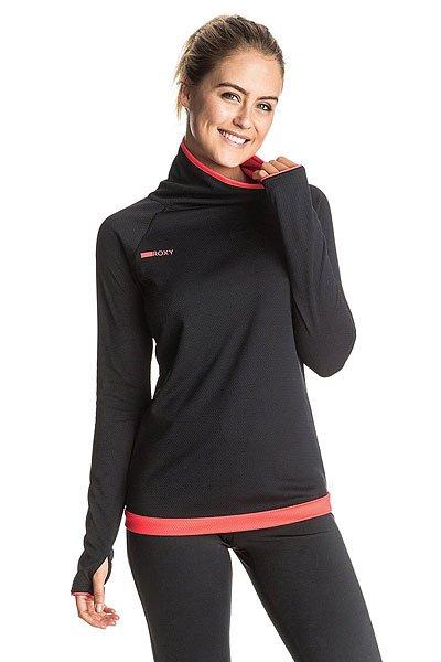 Толстовка сноубордическая женская Roxy Stretch True Black
