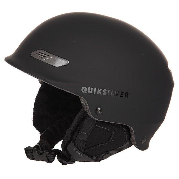 Шлем для сноуборда Quiksilver Wildcat BlackШлемы<br>Мужской сноубордический шлем Wildcat из новой сноубордической коллекции Quiksilver.Технические характеристики: Сверхлегкая двойная конструкция.Пенный амортизирующий наполнитель EPS.Фронтальная вентиляция для эффективного воздухообмена.Теплая и комфортная подкладка из шерпы и сетки.Мягкие термоформованные съемные ушные накладки.Ремень для подбородка из шерпы.Зажим для маски.Вес 350 г.<br><br>Размер EU: 56<br>Размер EU: 60<br>Размер EU: 61<br>Размер EU: 58<br>Цвет: черный<br>Тип: Шлем для сноуборда<br>Возраст: Взрослый<br>Пол: Мужской