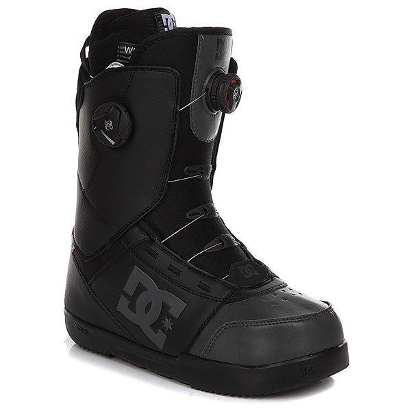 Ботинки для сноуборда DC Control BlackБотинки<br>Легкая конструкция и невероятно стильный внешний вид - не основные достоинства функциональных сноубордических ботинок DC Control BOAX. Подошва из вспененного материалаUnilite™ с интегрированной в область пятки технологиейImpact S, пришедшей из скейтовой индустрии, надежно демпфирует удары и защитит стопы от нагрузки. Конечно же, немаловажным бонусом является система быстрой двухзоновой шнуровкиBoa® Coiler, которая позволит быстро подогнать ботинок по ноге, не снимая перчаток.Характеристики:Жесткость: 6/10. Шнуровка Boa® Coiler с системой двухзоновой настройки H3. Подошва из вспененного материалаUnilite™.Стелька Impact S, защищающая пятку и стопу от внешних воздействий.Конструкция Articulated позволяет верхней части ботинка гнуться независимо от нижней, тем самым не деформируя ботинок. Внутренник White Liner. Пяточная петля.Нашивка с фирменным логотипом на язычке. Нанесенный сбоку фирменный логотип.<br><br>Размер EU: 45<br>Размер US: 11.5<br>Размер CM: 29<br>Размер EU: 44.5<br>Размер US: 11<br>Размер CM: 28.5<br>Размер EU: DC man B: 12us 46eur 29.25cm<br>Размер EU: DC man B: 10.5us 44eur 28.25cm<br>Цвет: черный<br>Тип: Ботинки для сноуборда<br>Возраст: Взрослый<br>Пол: Мужской