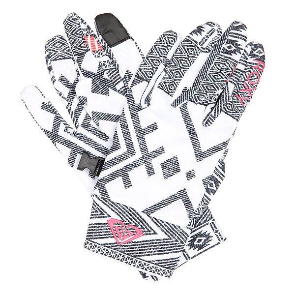 Перчатки женские Roxy Liner Gloves Windy Road True Black