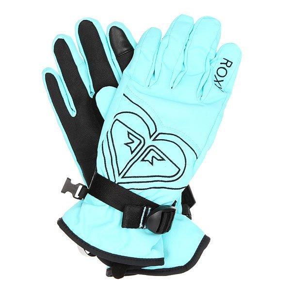 Перчатки сноубордические женские Roxy Popi Gloves Blue Radiance