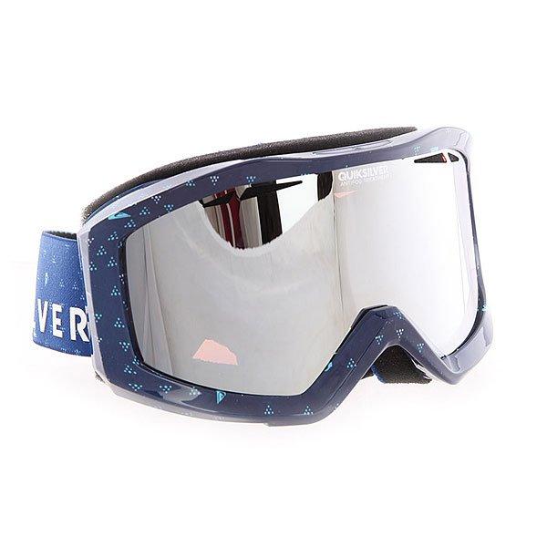 Маска для сноуборда Quiksilver Fenom Pack Sodalite Blue
