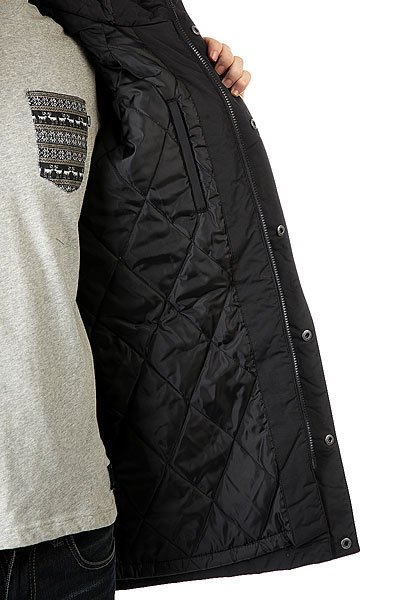 Куртка парка DC Grasmere Black от BOARDRIDERS