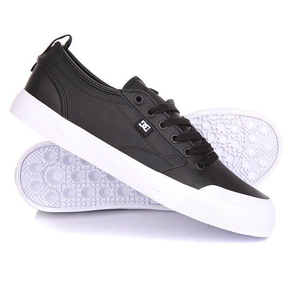 Кеды кроссовки низкие DC Evan Smith S Se Black/Black/White