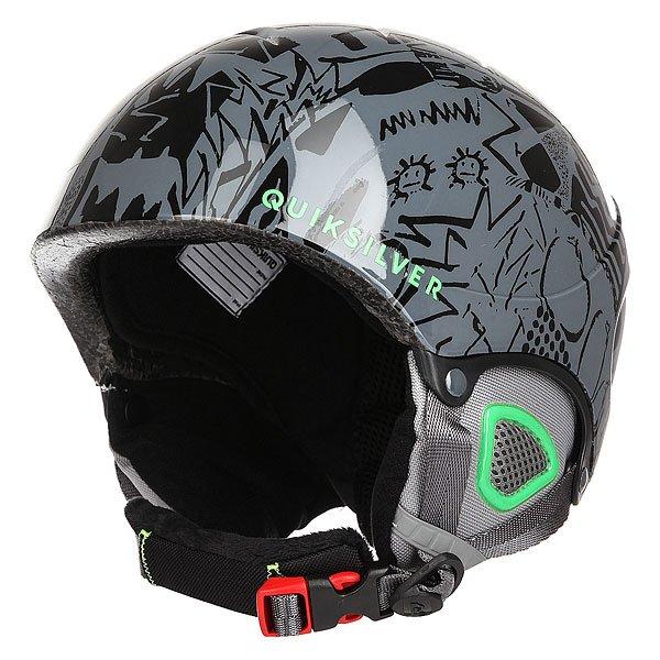 Шлем для сноуборда детский Quiksilver The Game Black